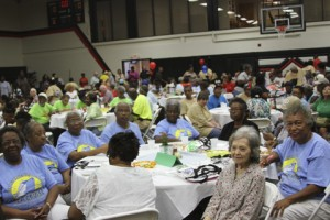 Several senior women from the Koinonia community were in attendance.