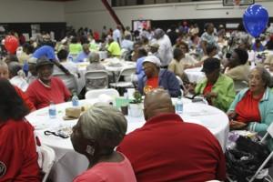 Members of the Ellaville Senior Citizens Center enjoyed the event.