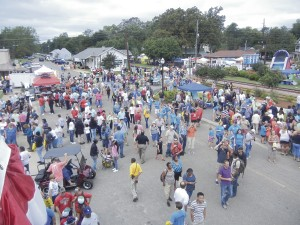 Hundreds of people return for the annual Plains Peanut Festival every year, from near and far.