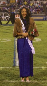 Michael Murray/Americus Times-Recorder:   Grace Cato was named ASHS' 2015-16 Homecoming Queen during a half-time ceremony on Oct. 2.
