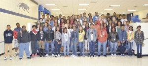 The Americus Sumter Ninth Grade Academy AB Honor Roll for the first nine weeks.