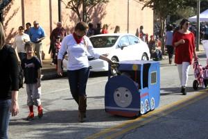 pet parade.thomas the train