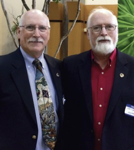 Ronald and Donald Kennedy, otherwise known as 'The Kennedy Twins,' have written several books about the Civil War. Ronald was speaker at the Wirz Memorial Service in Andersonville Sunday.