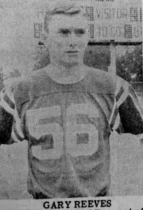 ATR File Photo: This photo, from the Dec. 6, 1965 edition of the Times-Recorder depicts Gary Reeves, who had just been named a player of the year by the Atlanta Journal-Constitution.