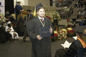 Colton Taunton was one of approximately 280 GSW graduates. An Americus native, Taunton earned a degree in psychology.
