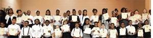 The fifth-grade members of the  Sumter County Intermediate School Jr. Beta Club.