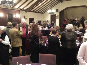 A large crowd attended the festive 2016 Boar's Head Feast at Calvary Episcopal Church in Americus.