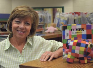 """Submitted by Sumter County Schools: Shown above, Lynde Parker was recently named Sumter County """"Teacher of the Year"""". As a llongtime teacher, Parker has devoted her life to making learning fun for her students."""