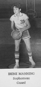 1966 Americus High School yearbook:   Irene Manning, a guard for the 1966 Pantherettes, was mentioned frequently in Graddick's articles on the team as an important defensive player fin the season's success.