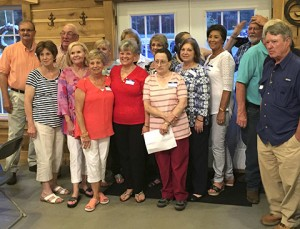The Class of 1967, Plains High School, was also invited to the reunion.