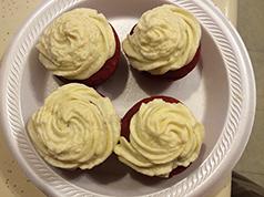 Kaylon's Red Velvet Cupcakes
