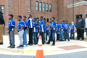 The 2016 Sumter County Parks and Recreation Department's 7- and 8-year-old State Footrball Championship team was recognized at the annual Martin Luther King Jr. program held Monday the Sumter County Courthouse.