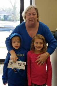 Teresa McCook planned to take her grandchildren to Sumter on Ice with the tickets she won in the contest.